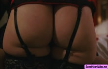 Bella Rolland gets horny seeing Diana Grace wears a lingerie she bought