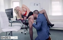 Sienna Day getting fucked in the office