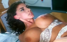 Horny nurse Sarah Young fucked in the office