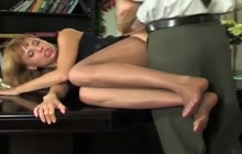 Hot office fuck with my boss