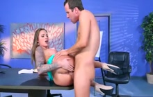 Office fuck with Juelz Ventura