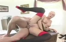 Hard anal banging for slutty secretary