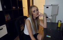 Harley Jade perfect blowjob POV