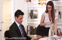 Brooklyn Chase fucking with her boss